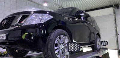 Сход-развал Nissan